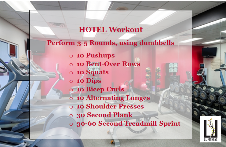Hotel Gym Workout | Gray Star Health